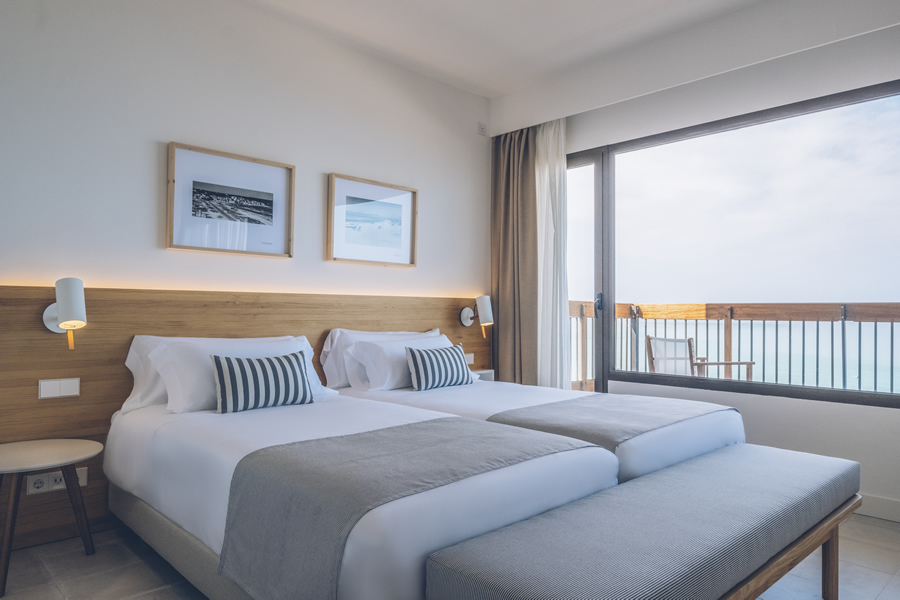 Book the sea view suite from Hotel Aya in Playa de Palma