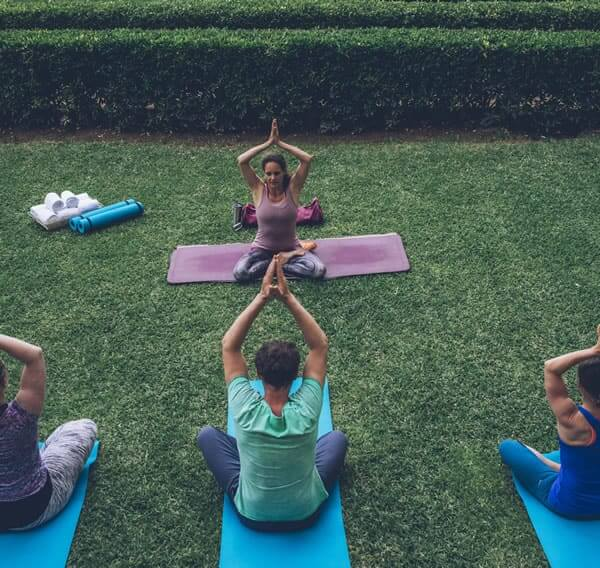 wellness and yoga at the hotel aya in playa de palma